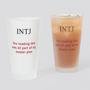 INTJ Plan Drinking Glass